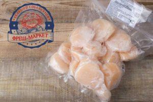 Филе морского гребешка см ~30шт. кг.